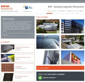Read more about the article Piattaforma BIPV Eurac