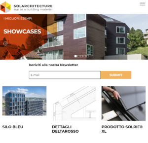 Website Solar Architecture