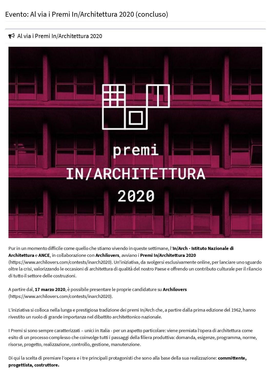Beni Culturali online – Premio speciale (en)