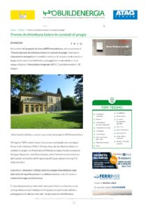 Read more about the article Infobuild Energia – Premio speciale