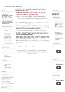 Fondazione Almagià – Premio speciale