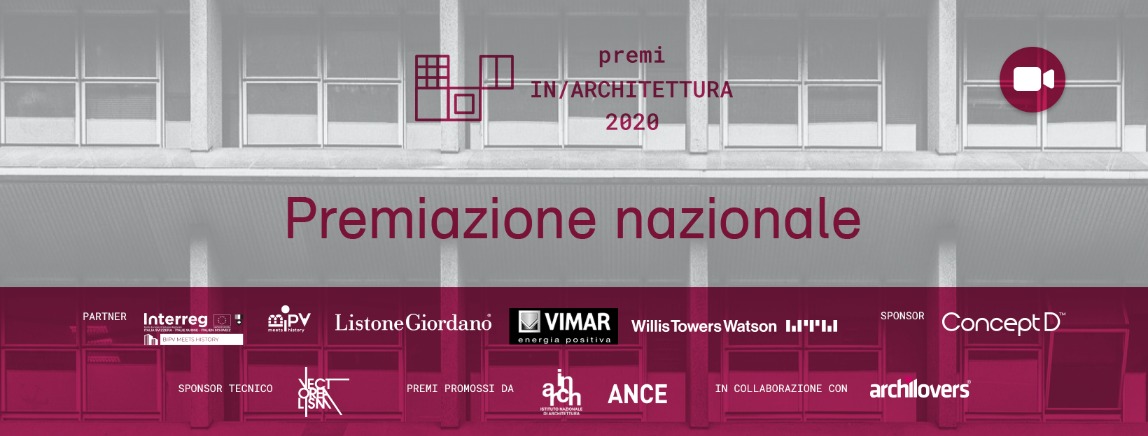 Read more about the article Premi IN/ARCHITETTURA 2020: tutti i vincitori