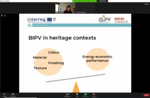Tavolo di lavoro interdisciplinare – SBE21: Bilanciare la conservazione del patrimonio, il potenziale locale delle energie rinnovabili e lo sfruttamento della tecnologia BIPV