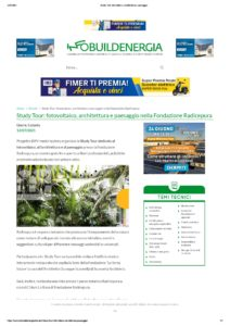 Read more about the article Infobuild Energia – Study Tour a Radicepura